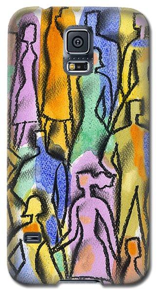 Network Galaxy S5 Case by Leon Zernitsky
