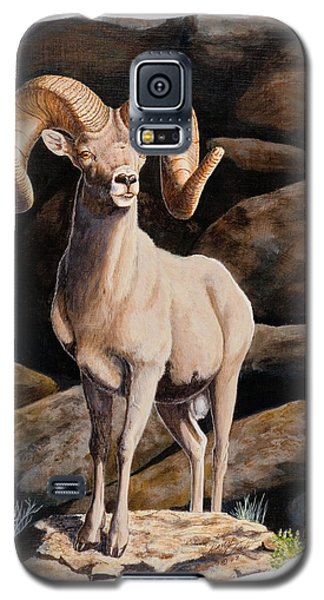 Nevada Desert Bighorn Galaxy S5 Case
