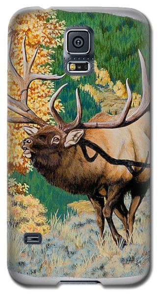 Nevada Nontypical Elk Galaxy S5 Case