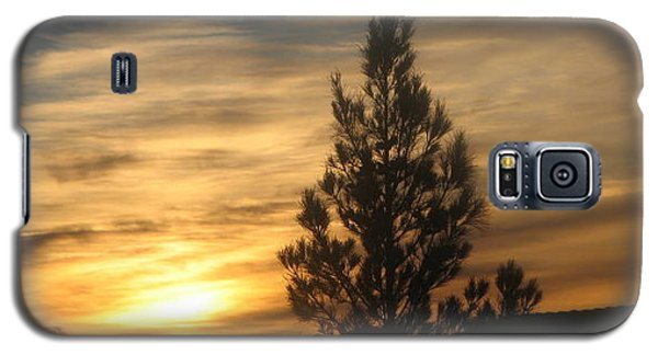 Galaxy S5 Case featuring the photograph Nevada Sunset by John Glass