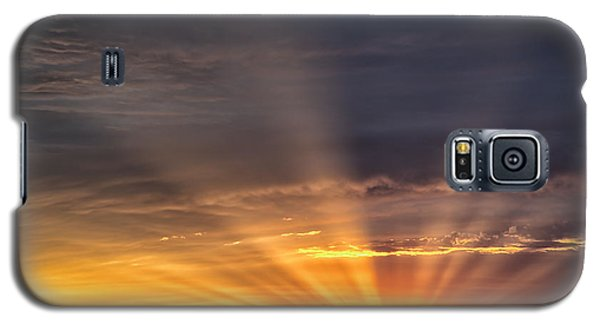 Nevada Sunset Galaxy S5 Case by Janis Knight
