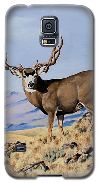 Nevada Typical Mule Deer Galaxy S5 Case