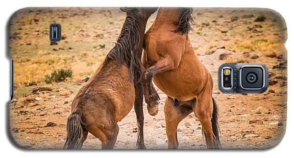 Nevada Wild Horses 3890 Galaxy S5 Case by Janis Knight