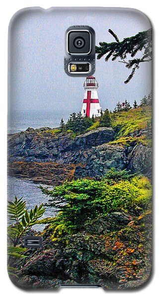 New Brunswick Lighthouse Galaxy S5 Case by Lewis Mann