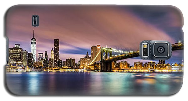 New Dawn Over New York Galaxy S5 Case