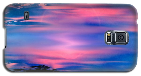 Galaxy S5 Case featuring the painting New Dawn by Yul Olaivar