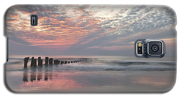 New Day Sunrise Sunset Image Art Galaxy S5 Case