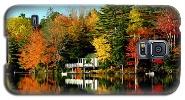 Galaxy S5 Case featuring the photograph New England by Bill Howard