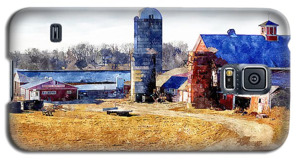 New England Farm 2 Galaxy S5 Case