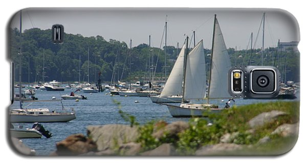 Galaxy S5 Case featuring the photograph New England Seascape by Denyse Duhaime