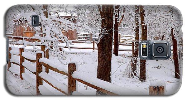 New England Winter Galaxy S5 Case