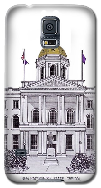 New Hampshire State Capitol Galaxy S5 Case by Frederic Kohli