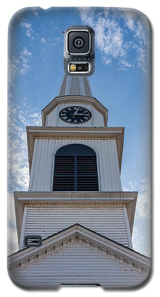 New Hampshire Steeple Detailed View Galaxy S5 Case by Karen Stephenson