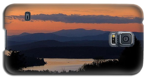 New Hampshire Sunset Galaxy S5 Case by Mim White