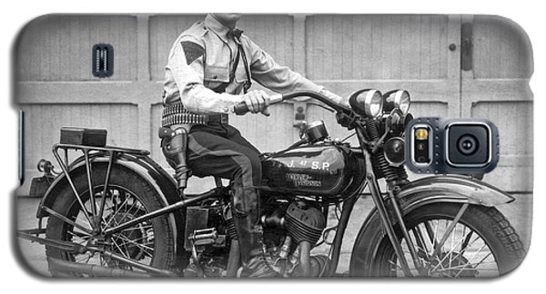New Jersey Motorcycle Trooper Galaxy S5 Case
