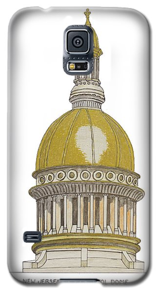 New Jersey State Capitol Galaxy S5 Case by Frederic Kohli
