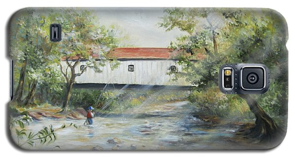 New Jersey's Last Covered Bridge Galaxy S5 Case