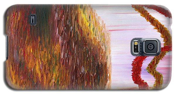 Galaxy S5 Case featuring the painting New Life by Vadim Levin