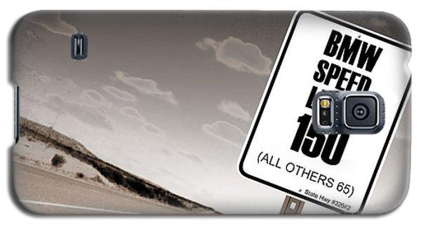 New Limits Sepia Galaxy S5 Case