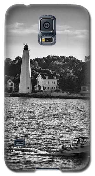 New London Harbor Light Galaxy S5 Case
