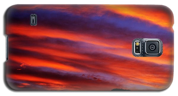New Mexican Sunrise Galaxy S5 Case by Susanne Still