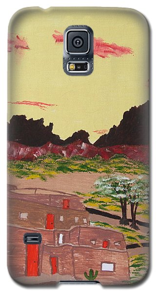 New Mexico Adobe Home Galaxy S5 Case by Brady Harness