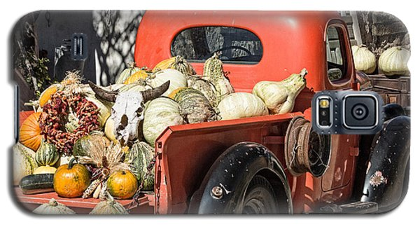 New Mexico Fall Harvest Truck Galaxy S5 Case by Steven Bateson