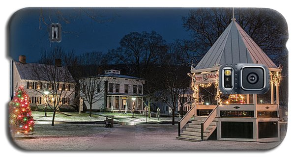 New Milford Green - Christmas Morning Galaxy S5 Case