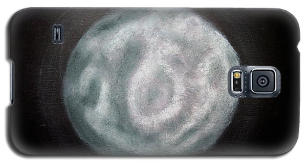 Galaxy S5 Case featuring the painting New Moon by Joel Loftus