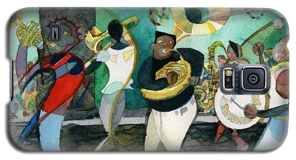 New Orleans Brass Band Jazz Galaxy S5 Case
