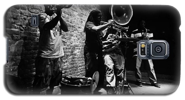 New Orleans Brass Band Galaxy S5 Case