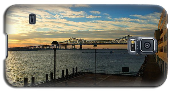Galaxy S5 Case featuring the photograph New Orleans Bridge by Erika Weber