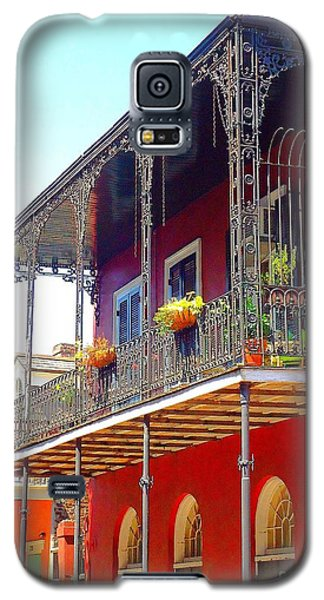 New Orleans French Quarter Architecture 2 Galaxy S5 Case