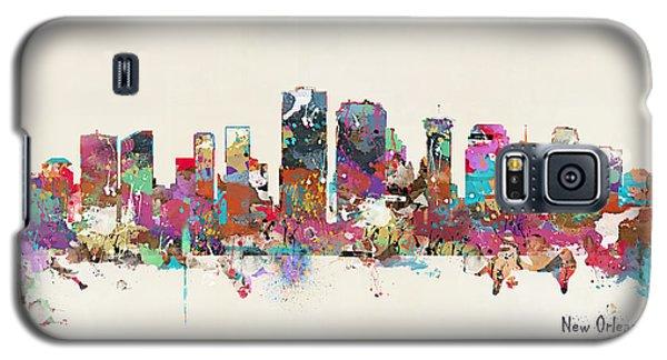 New Orleans Louisiana Skyline Galaxy S5 Case by Bri B
