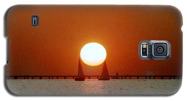 New Orleans Sailing Sun On Lake Pontchartrain Galaxy S5 Case