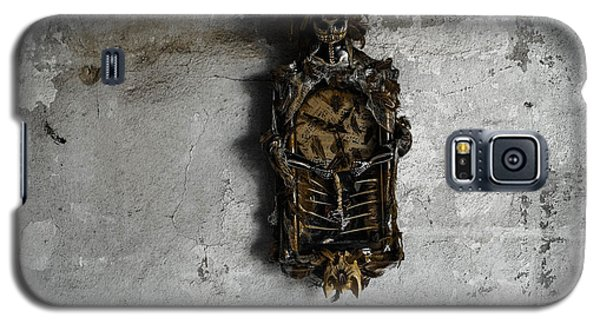 New Orleans Voodoo Bone Clock Galaxy S5 Case