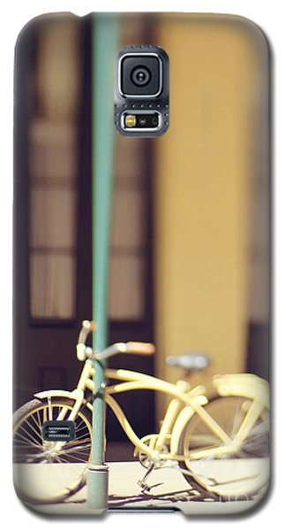 New Orleans Yellow Bicycle Galaxy S5 Case