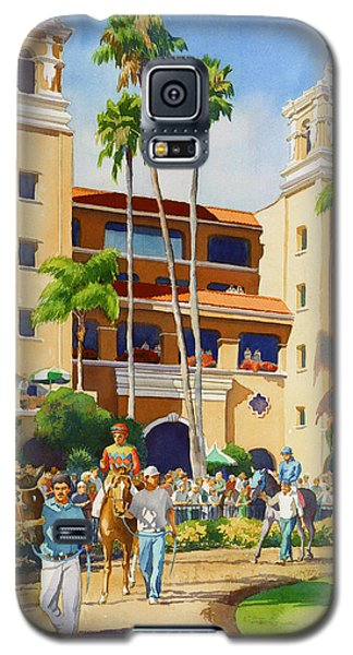 Planets Galaxy S5 Case - New Paddock At Del Mar by Mary Helmreich