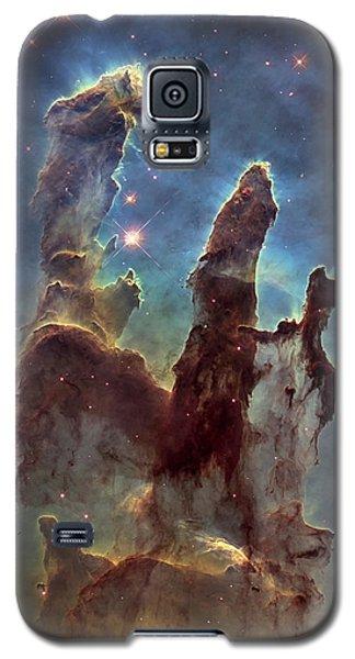 New Pillars Of Creation Hd Tall Galaxy S5 Case