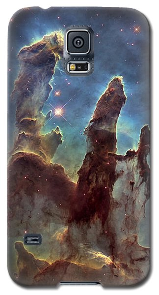 New Pillars Of Creation Hd Tall Galaxy S5 Case