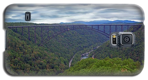 New River Bridge Galaxy S5 Case by Aimee L Maher Photography and Art Visit ALMGallerydotcom