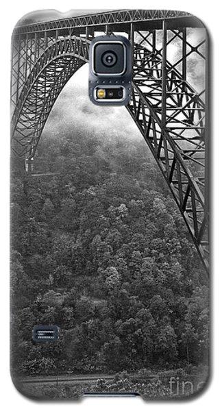 New River Gorge Bridge Black And White Galaxy S5 Case