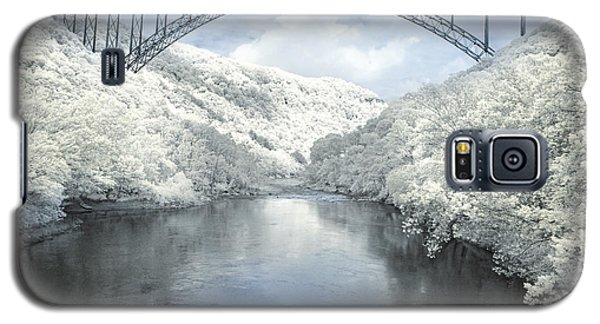 New River Gorge Bridge In Infrared Galaxy S5 Case
