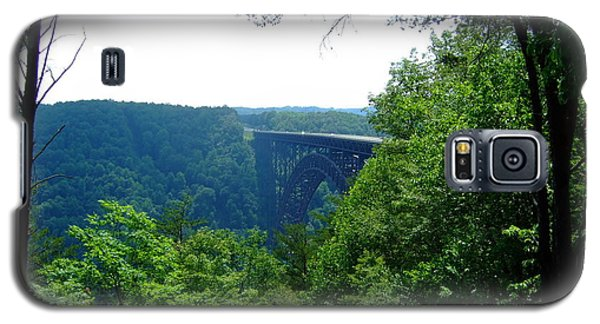 Galaxy S5 Case featuring the photograph New River Gorge by Deborah DeLaBarre