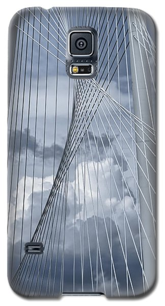 New Skyline Bridge Galaxy S5 Case by Joan Carroll