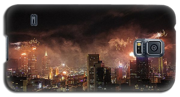New Year Fireworks Galaxy S5 Case