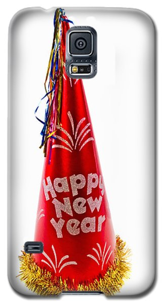 Happy New Year Party Hat Galaxy S5 Case by Vizual Studio