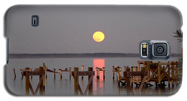 New Years Eve Blue Moon On The Bay Galaxy S5 Case