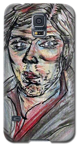 New Years Self Portrait Galaxy S5 Case by Denny Morreale