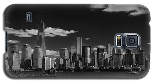 New York 1 Black And White Galaxy S5 Case